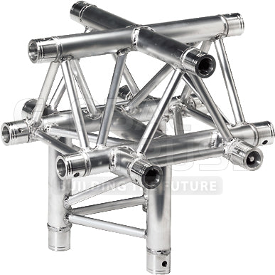 Global Truss TR-4101-U  - 1.64ft. (0.5m) 5 WAY CROSS JUNCTION - Sonido Live