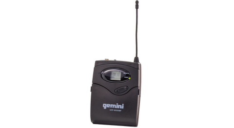 Gemini UHF-6000BP Belt-Pack PLL Transmitter Only, for UHF PLL System - Sonido Live