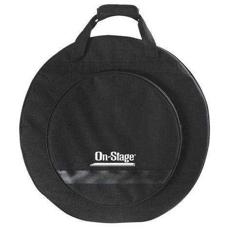 On-Stage CB4000 Deluxe Cymbal Backpack Transport Bag