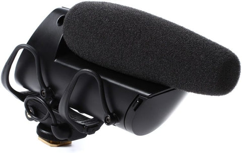 Shure VP83F LensHopper Camera-mount Compact Shotgun Microphone with Flash Recording
