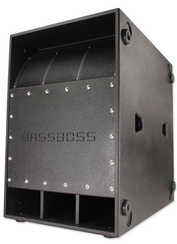 BASSBOSS VS21 21-Inch 2400-Watt RMS High-Powered Subwoofer - Sonido Live