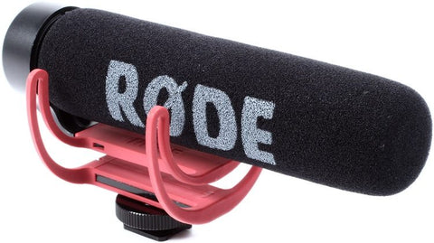 Rode VideoMic GO Lightweight Directional Shotgun Video Mic