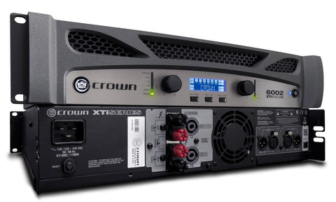 Crown XTI6002 Power Amplifier 1200W @ 8 Ohms - Sonido Live
