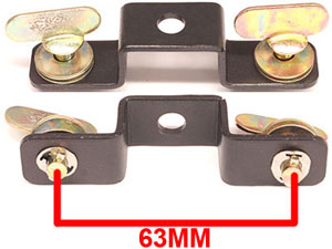 American DJ Hanging Moving Head Bracket 63MM