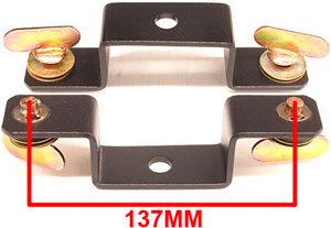 American DJ Moving Head Bracket Replacement Part 137MM