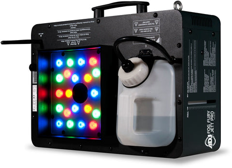 American DJ Fog Fury Jett Pro 1450-Watt High Powered LED Fog Machine - Sonido Live