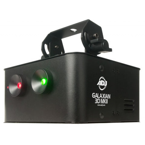 American DJ Galaxian 3D MKII Portable Green/Red Laser