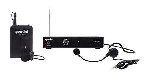 Gemini VHF-01HL Single Channel VHF Wireless System - Sonido Live