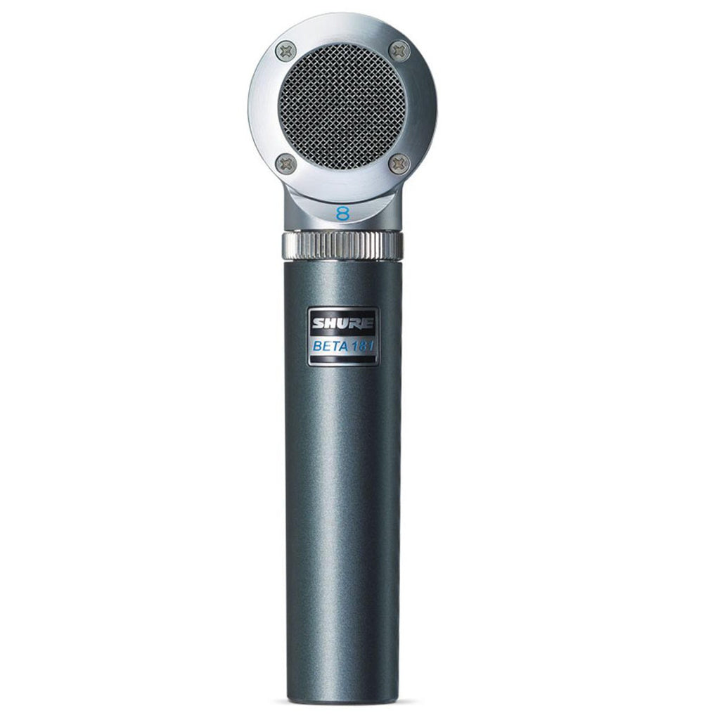 Shure BETA 181/BI Figure 8 Compact Side-Address Instrument Microphone - Sonido Live