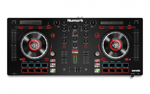 Numark Mixtrack Platinum - DJ Controller with Jog Wheel Display for Serato DJ - Sonido Live