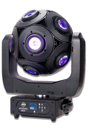 American DJ Asteroid 1200 Rotating Spherical 180-Watt Moving Head