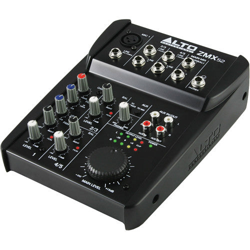 Alto ZMX52 Zephyr 5-Channel Compact PA Mixer