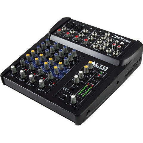 Alto Zephyr ZMX862 6-Channel Compact PA Mixer
