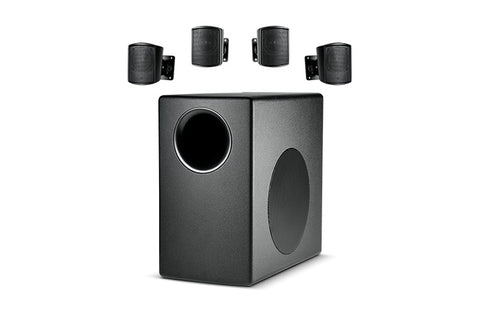 JBL C50PACK Packaged Surface-Mount Subwoofer-Satellite  Loudspeaker System