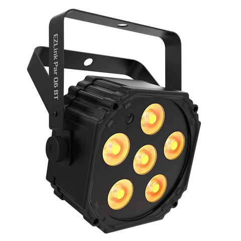 Chauvet EZlink Par Q6 BT RGBA Battery-Powered Wash w/ Bluetooth