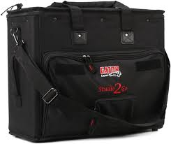 "Gator GSR-2U ""Studio-2-Go"" - Laptop and 2-Space Audio Rack Bag"