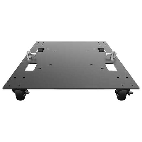 Global Truss BASE PLATE 24X30WC  - STEEL BASE PLATE WITH CASTERS FOR QUICK GRIDS, F34 & F44P TRUSSING - Sonido Live