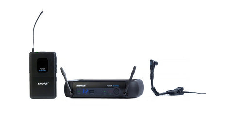 Shure PGXD14/Beta98H Digital Wireless Instrument Wireless System w/Beta98H/C Instrument Microphone - Sonido Live