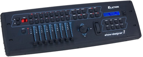 Elation Show Designer 1 Professional Stage Lighting Controller for DMX 512 Lighting Fixtures