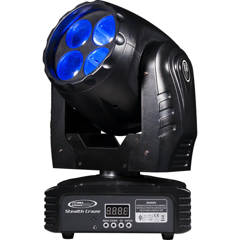 Eliminator Stealth Craze 40W Compact Moving Head