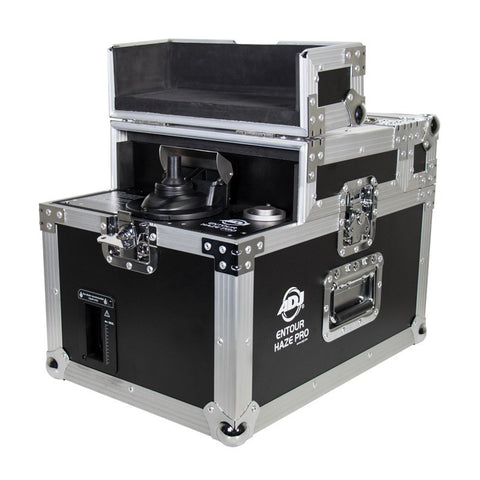 American DJ Entour Haze Pro Professional-grade Haze Machine with built-in flight case