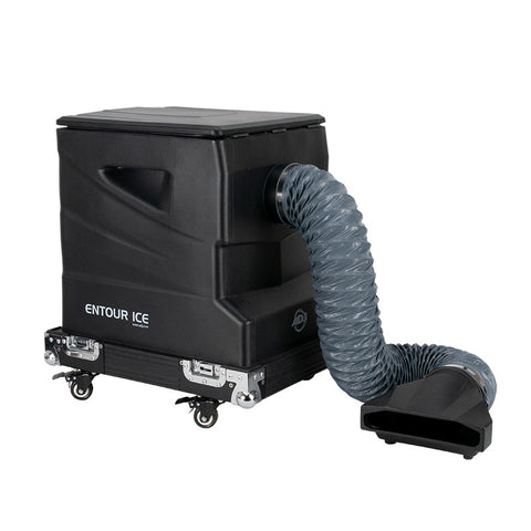 American DJ Entour Ice High-Output, Low-Lying, Tour Graded Fog Machine