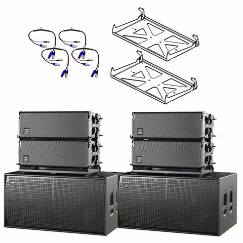 DAS Audio Event 208A & 218A Line Array System