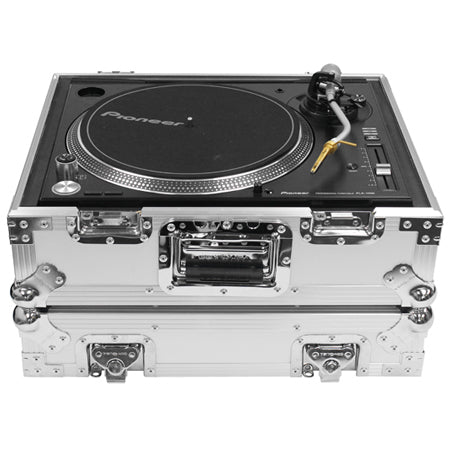 Odyssey FZ1200WT White Heavy-Duty ATA Turntable Case