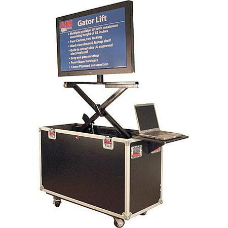 "Gator G-TOURLCDLIFT65 - 65"" LCD/Plasma Lift Road Case"