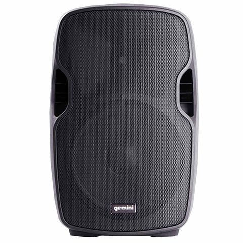 "Gemini AS-10BLU Powered 10"" Speaker with Built-in USB/SD/Bluetooth MP3 Player - Sonido Live"
