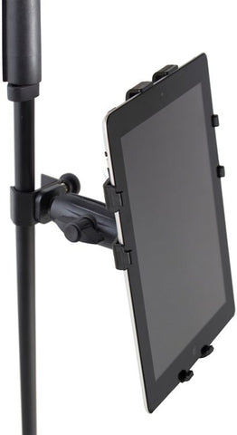 Gator Frameworks GFW-UTL-TBLTCLMP Adjustable iPad/Tablet Mount