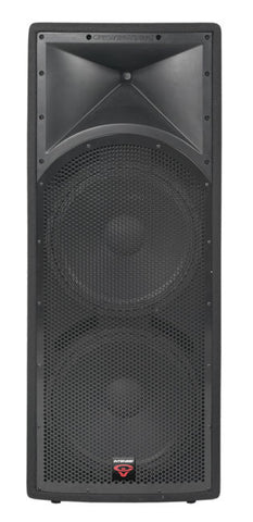 "Cerwin Vega INT-252 V2 Intense Series Dual 15"" 2-Way Full Range Speaker - Sonido Live"