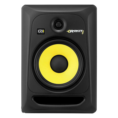 "KRK Rokit Powered 8"" Generation 3 Powered Studio Monitor - Sonido Live"