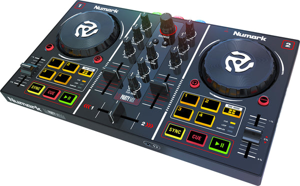 Numark Party Mix DJ Controller with Built in Light Show - Sonido Live