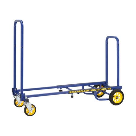 Odyssey OR2RT-BL R2RT-BL Micro In Blue: RockNRoller® Multi-Cart® 8-In-1 Equipment Transporter