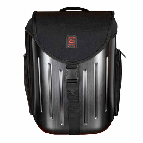 Odyssey BHS12BPBLK Battle Pack Hard Shell DJ Backpack in Black