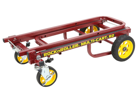 Odyssey OR2RT-RD RockNRoller® Multi-Cart®  8-IN-1 Equipment Transporter - RED MICRO