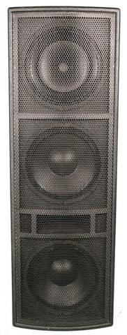 BASSBOSS AT312 Powered 3-Way 3000-Watt Lightweight - Sonido Live