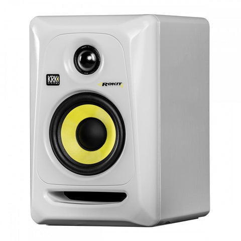 "KRK Rokit Powered 4"" Generation (White) - Sonido Live"