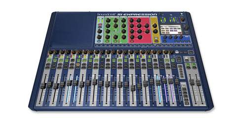 Soundcraft Si Expression 2 - 24-Channel Digital Mixer - Sonido Live