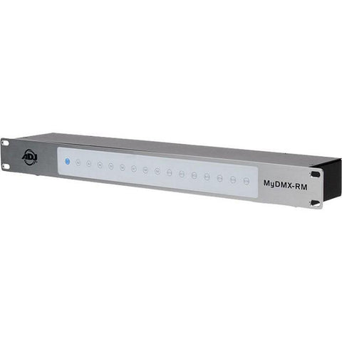 ADJ myDMX RM 512-Ch Rackmount DMX USB Interface with Software