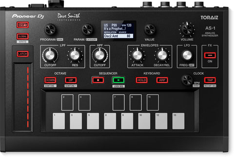 Pioneer DJ TORAIZ AS-1 Share Monophonic analog synthesizer - Sonido Live
