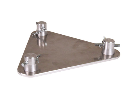 Global Truss TR-96129  - BASE PLATE FOR F23 MINI TRIANGULAR TRUSS - Sonido Live