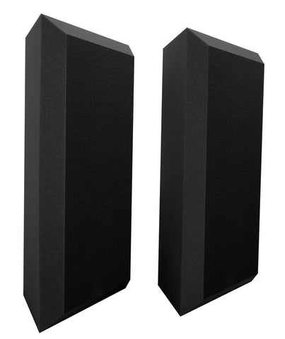 Ultimate Support UA-BTBV Professional Acoustic Bass Traps with Bevel Design – QTY 2