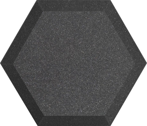 "Ultimate Support UA-HX-12CH Hexagonal Foam Wall Panel - 12"" - Charcoal - Class B"