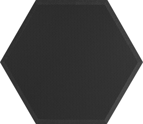 "Ultimate Support UA-HX-24BK Hexagonal Foam Wall Panel - 24"" - Black Vinyl - Class B"
