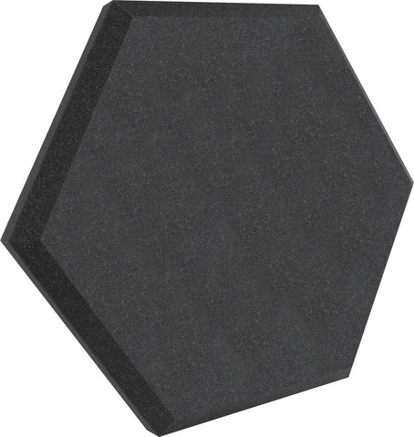 "Ultimate Support UA-HX-24CH Hexagonal Foam Wall Panel - 24"" - Charcoal - Class B"