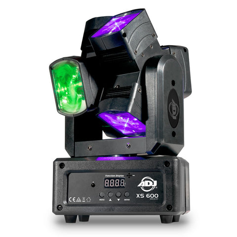 American DJ XS 600 Dual-Head 6-Lense Moving Head
