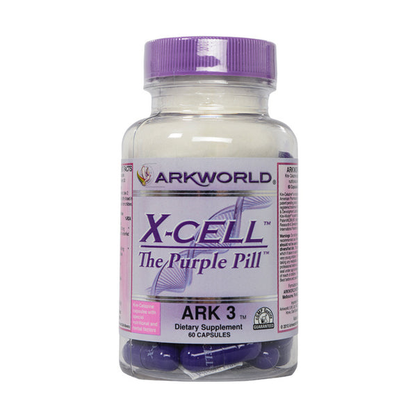 Ark 3 - X-CELL™ - Cell Repair  (THE PURPLE PILL) | Ark Nutrition®