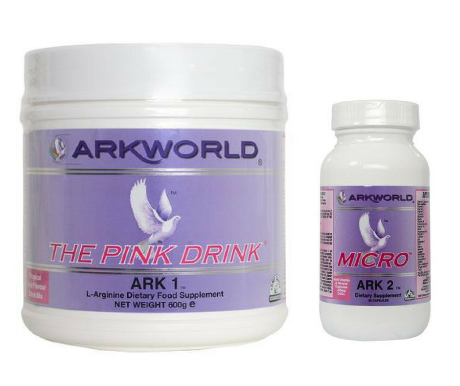 "Arkworld  Ark 1 The Pink Drink and Arkworld Ark "" Magical Micro"